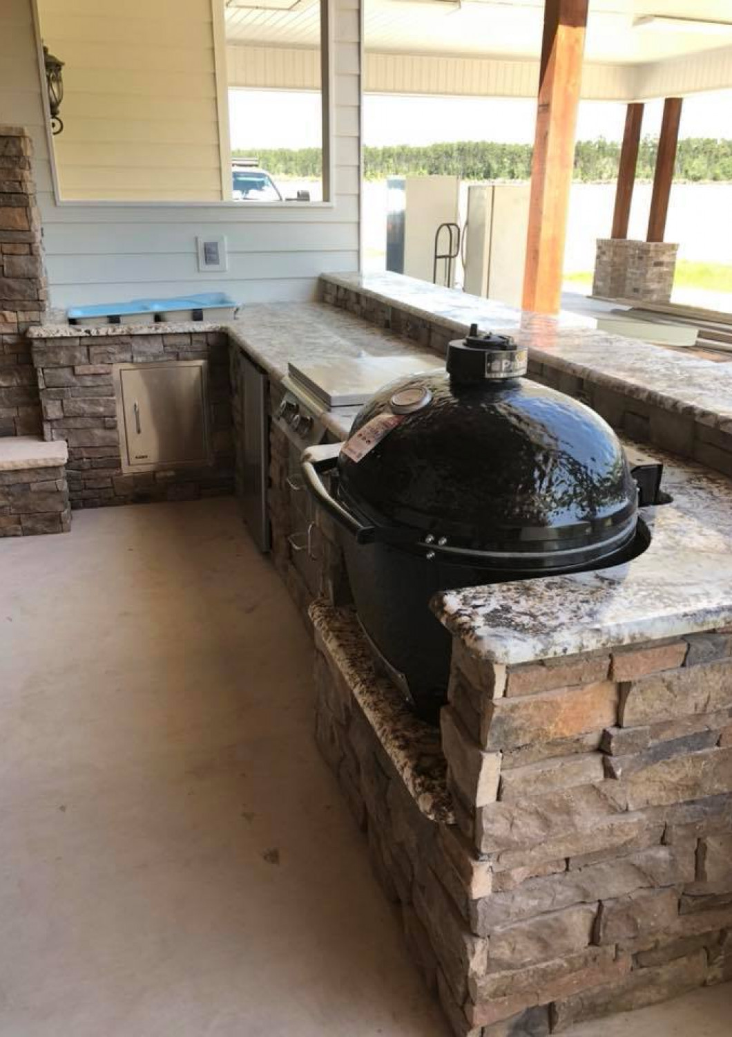 What will your outdoor kitchen include?